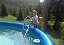 Chata Pod Kľakom - bazén