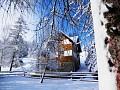 Romantické zimné prostredie