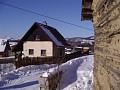 Chata Levočské vrchy v zime