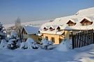 Penzión UVZ Danišovce v zime
