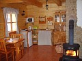 Liptovská drevenica - Kuchynka apartmánu č. 2