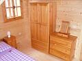 Liptovská drevenica - Spálňa č. 1 apartmánu č. 2