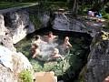 Prírodné jazierko s teplou vodou - 10 km od chalupy