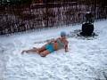 Váľanie sa v snehu