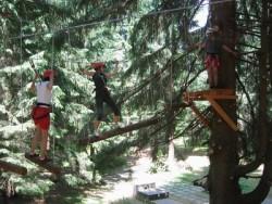 Lanový park Tarzania - Tále