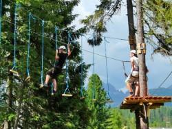 Lanový park Veveričí park - Štrbské Pleso