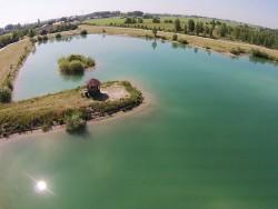 Súkromné jazero - rybník Lívia