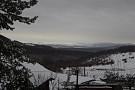 Výhľad z chaty zima