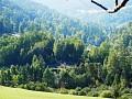 Foto z protiľahlého kopca