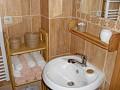 Liptovská drevenica - Kúpeľňa s uterákmi a osuškami