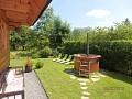 Liptovská drevenica - Záhrada