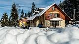 Penzión Jozef v zime