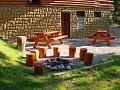Chata Sunday - Záhradné sedenie