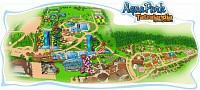 Mapka ubytovania v ResorteTatralandia