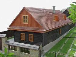 Chata U STAROŇA - Západné Tatry - Liptov - Liptovská Kokava | 123ubytovanie.sk
