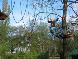 Lanový park Tarzania - Vlčkovce | 123ubytovanie.sk