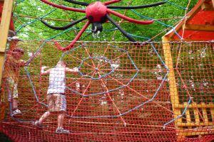 Lanový park Spider park - Tatranská Kotlina