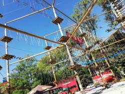 Lanový park Segoland - Martin