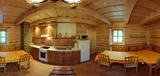 Spoločenská miestnosť s kuchynkou